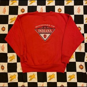 Vintage Indiana Hoosiers Crewneck Size XL 90s